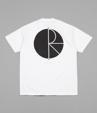 Polar Fill Logo T-Shirt - White / Black