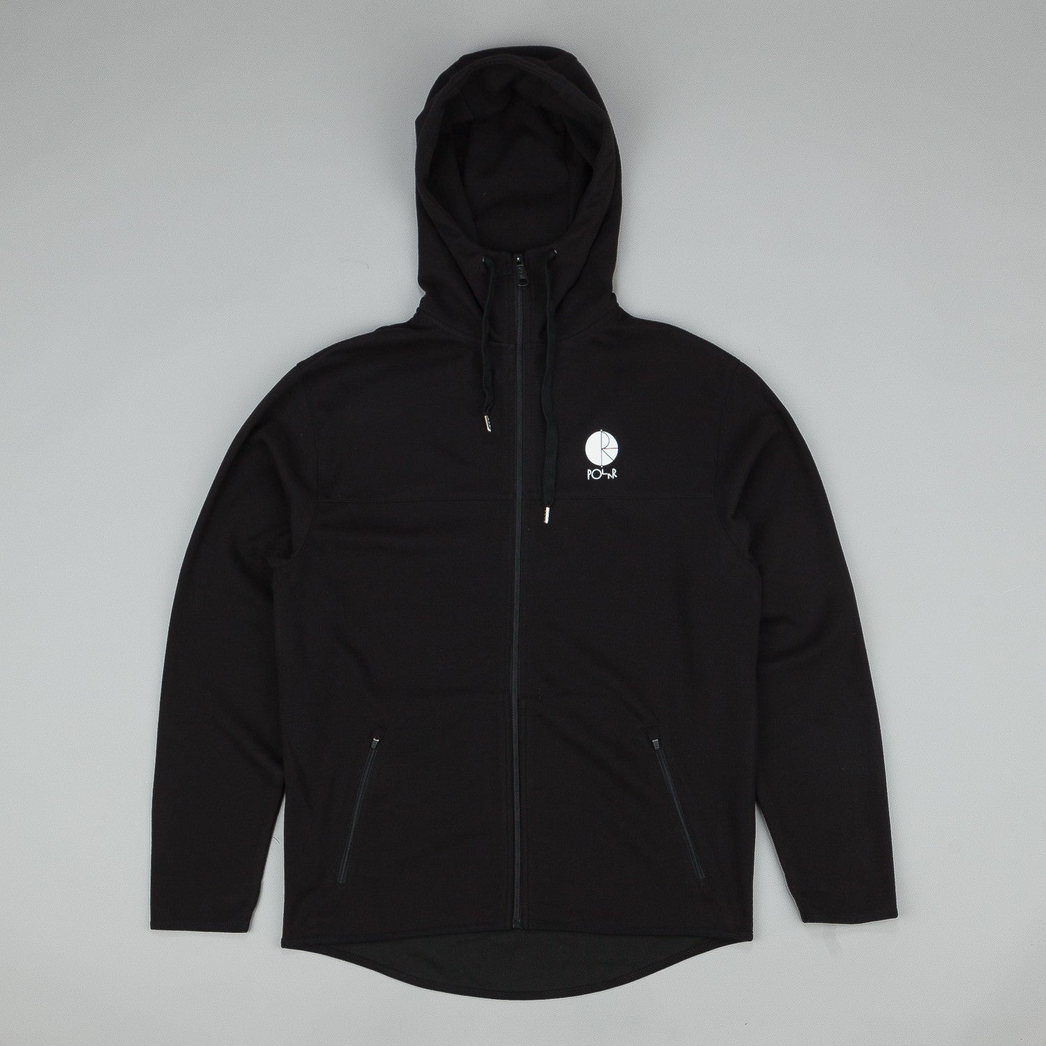 Polar Fill Logo Tec Zip Hooded Sweatshirt