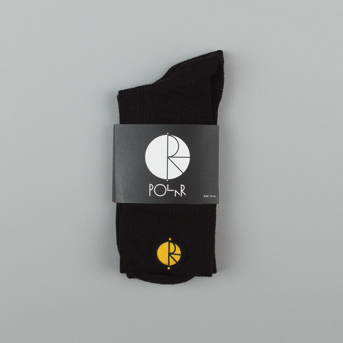 Polar Fill Logo Technology Socks - Black / Yellow