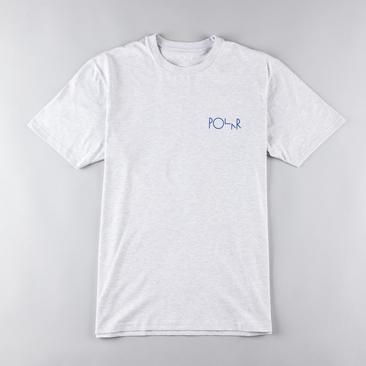 Polar Fill Logo Tee - Heather Grey