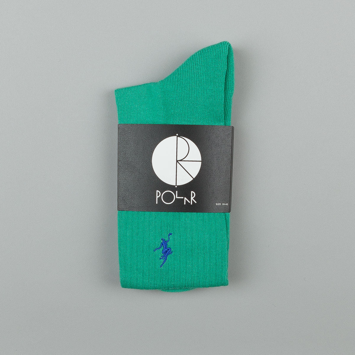 Polar No Comply Sports Socks - Sports Green