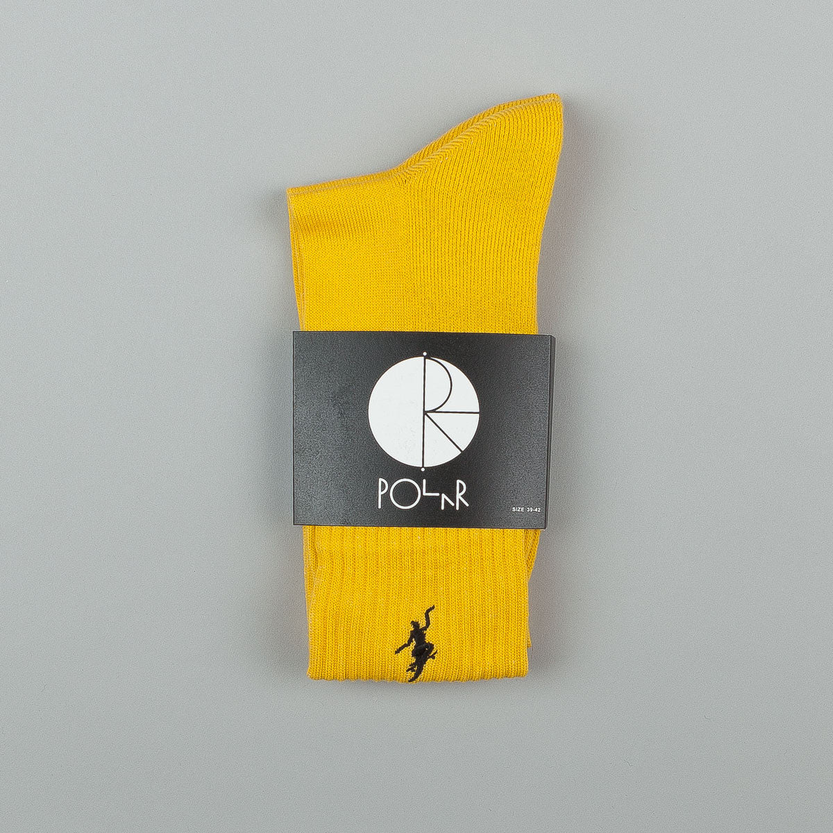 Polar No Comply Sports Socks - Yellow / Black