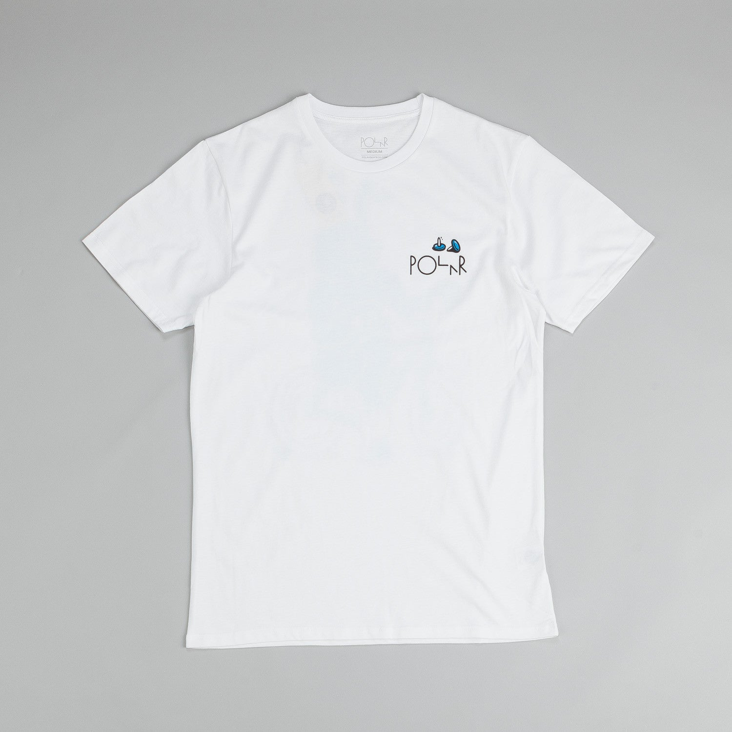 Polar Flat Tyre T Shirt White / Blue