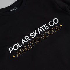 Polar For The Win Sweatshirt Black / Yellow - White