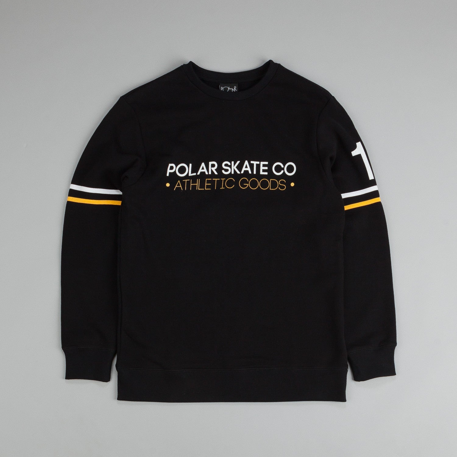 Polar For The Win Sweatshirt Black / Yellow