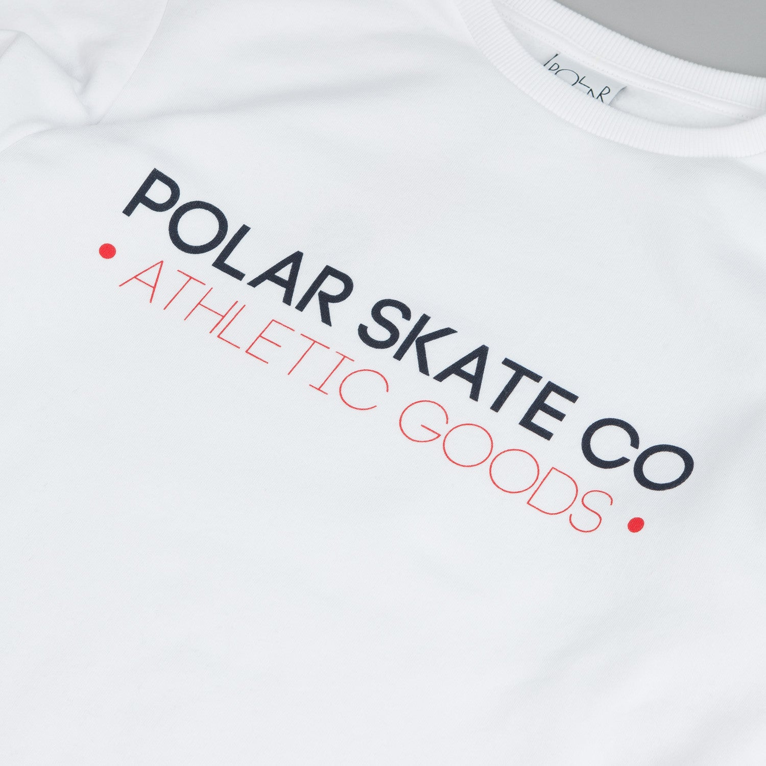 Polar For The Win Sweatshirt White / Red - Blue