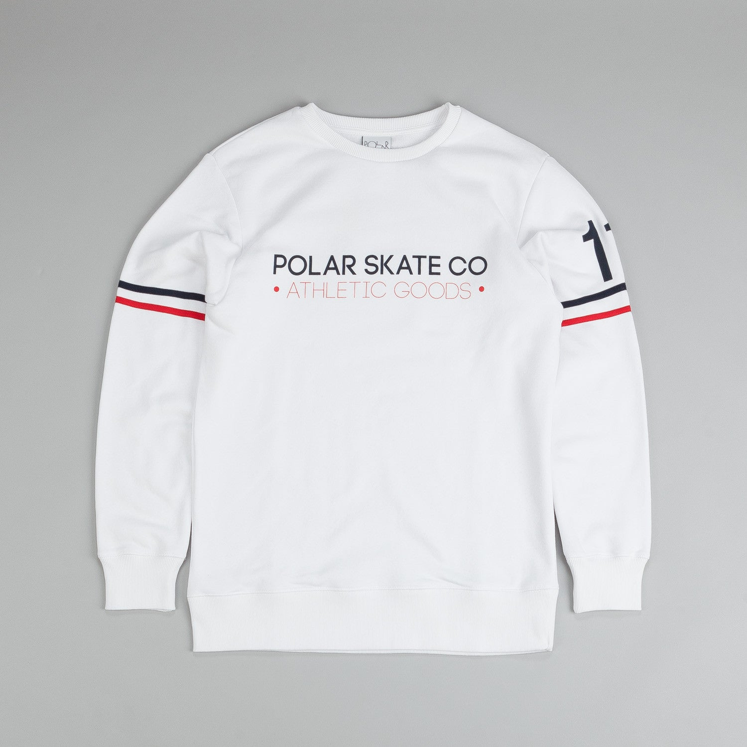 Polar For The Win Sweatshirt White / Red