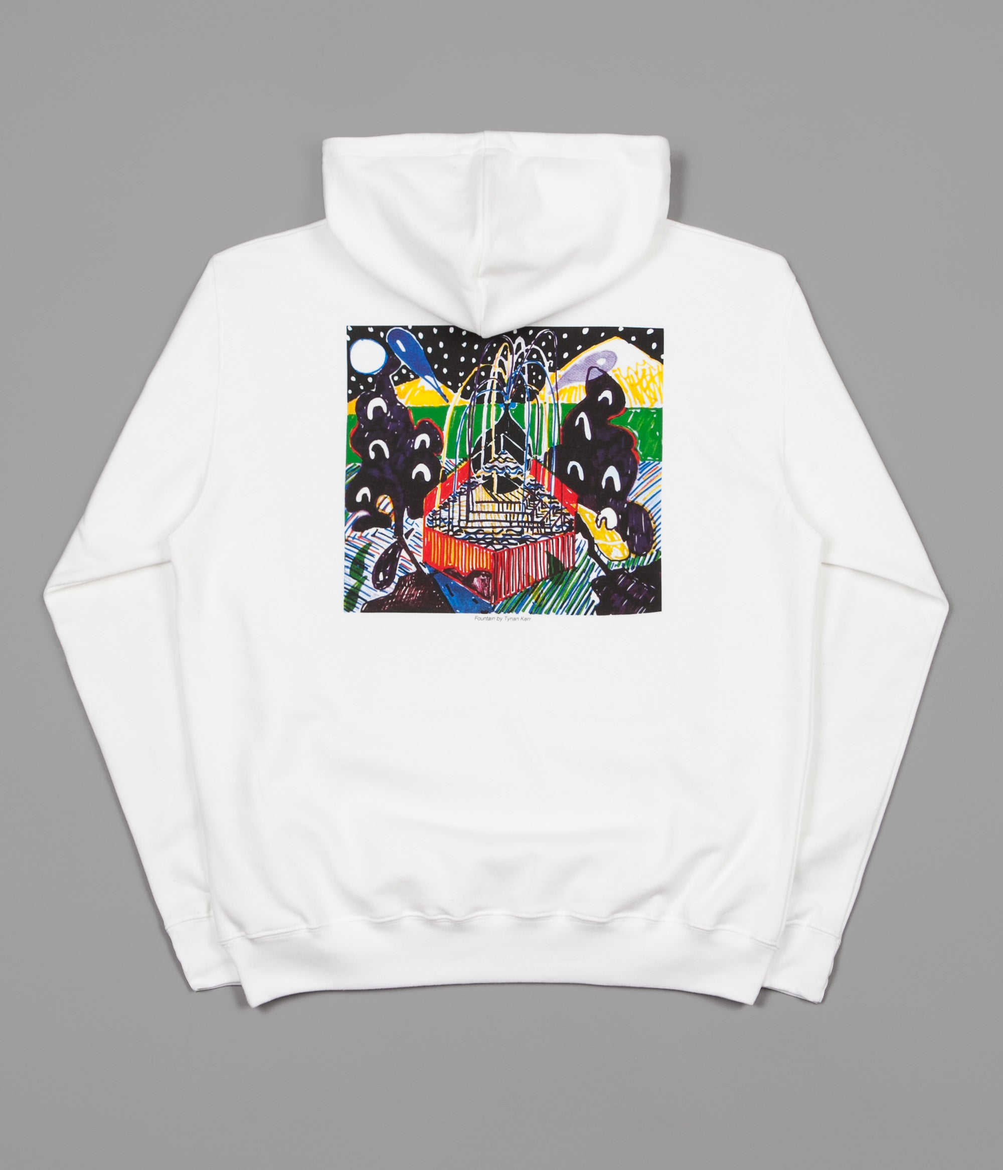 Polar Fountain Hoodie - White