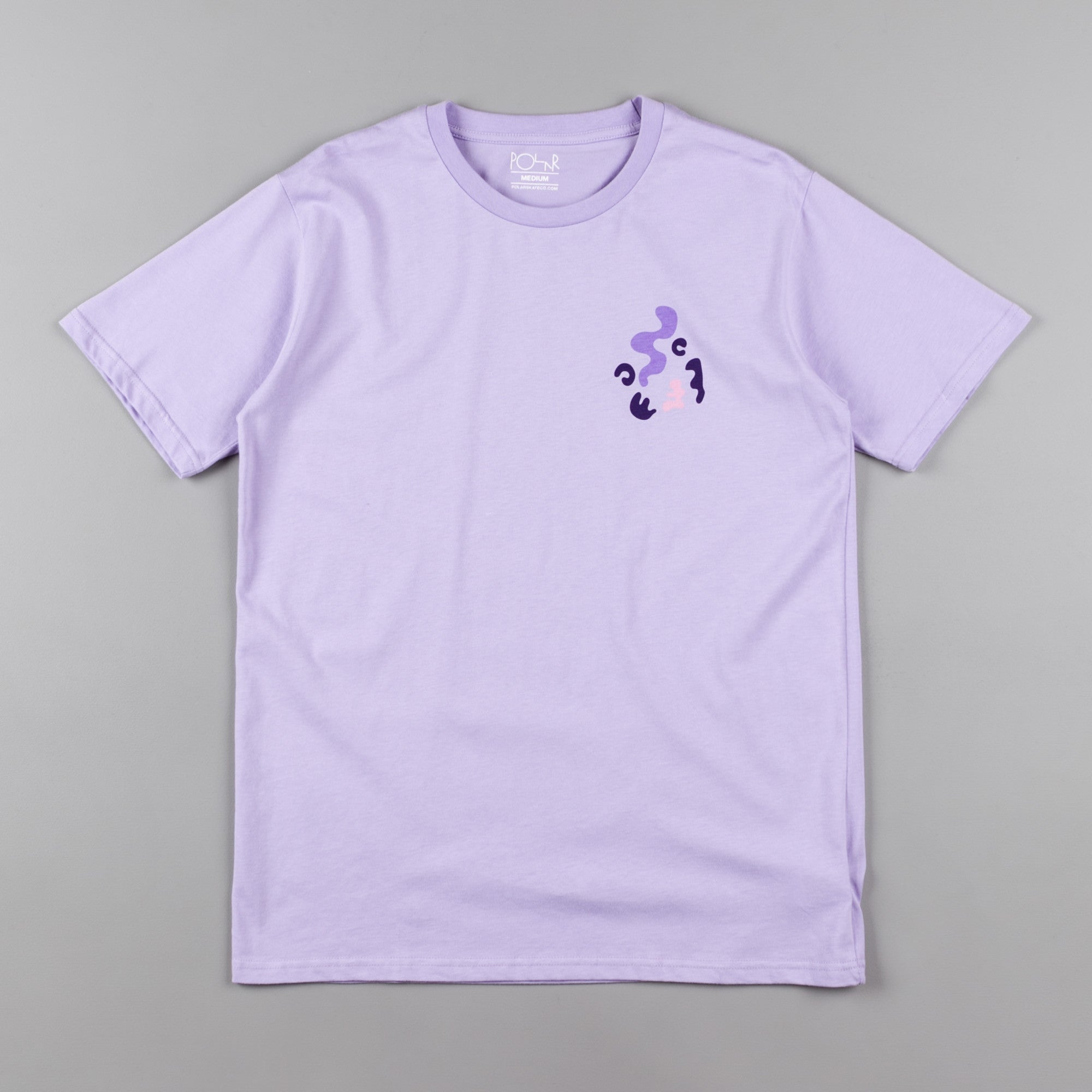 Polar Freak Face T-Shirt - Lavender