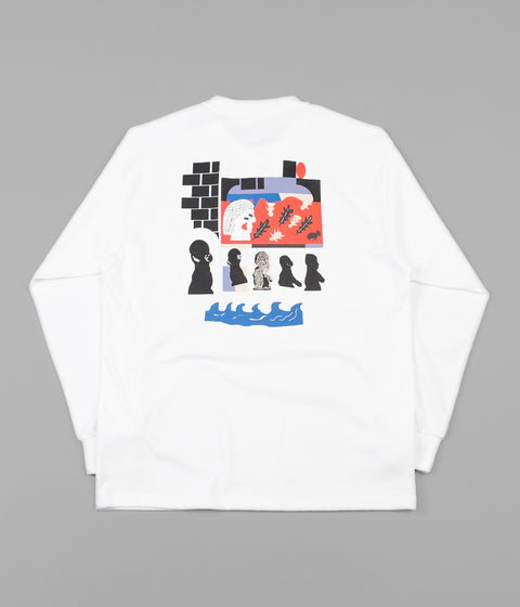 Polar Gnarhammer Long Sleeve T-Shirt - White