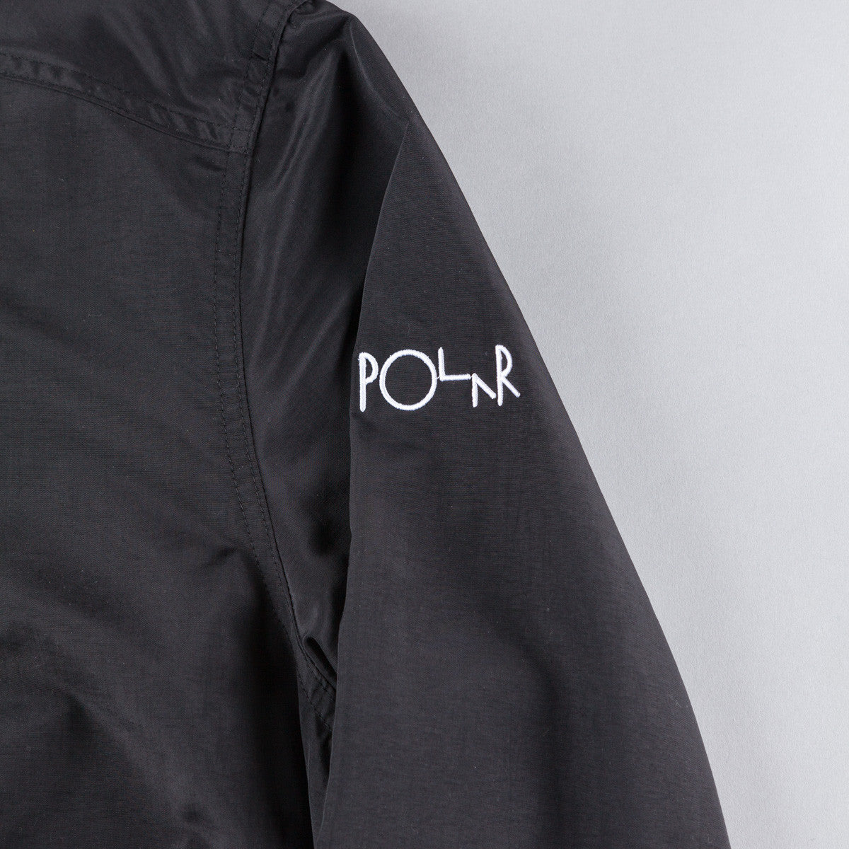 Polar Golf Club Pullover Jacket - Black