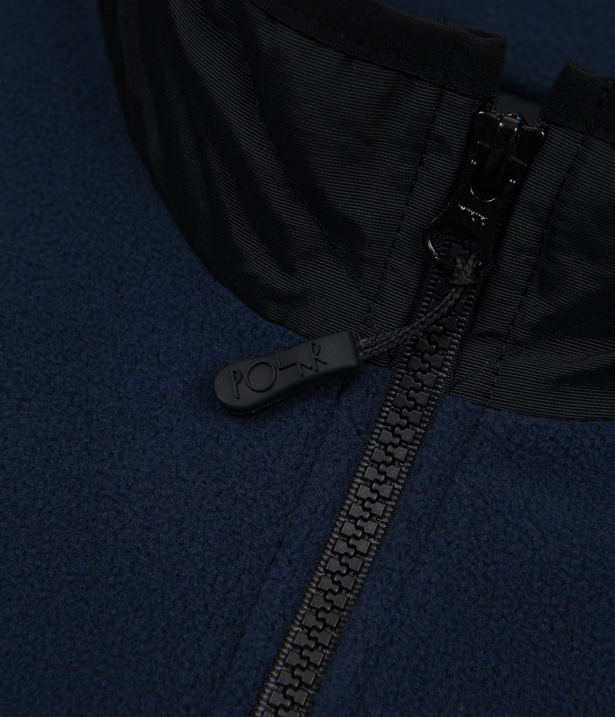 Polar Gonzalez Fleece Jacket - Black / Obsidian Blue
