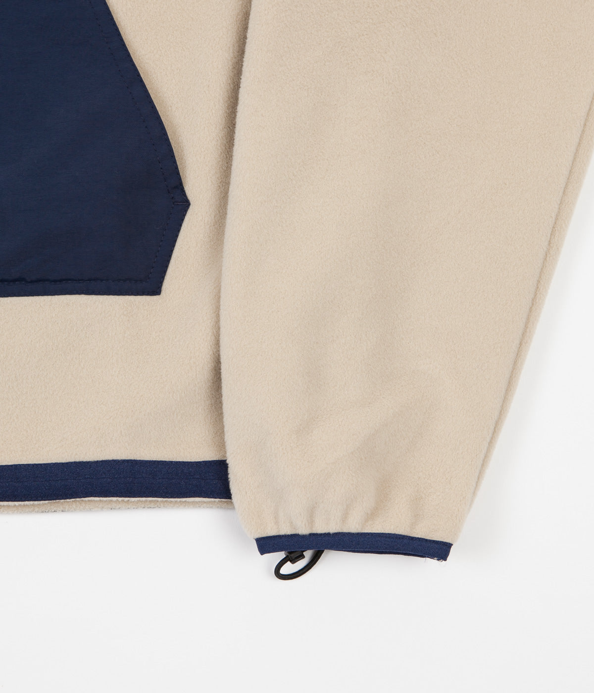 Polar Gonzalez Fleece Jacket - Sand / Navy