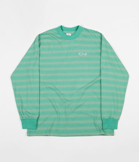 Polar Gradient Long Sleeve T-Shirt - Peppermint