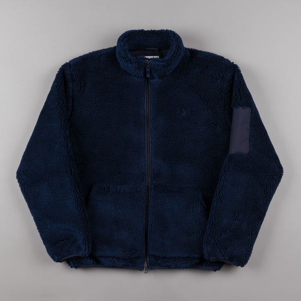 Polar Halberg Berber Jacket - Rich Navy