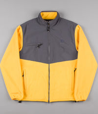 Polar Halberg Fleece Jacket - Graphite / Yellow
