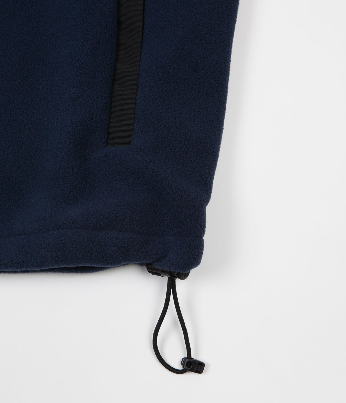 Polar Halberg Fleece Vest - Black / Obsidian Blue