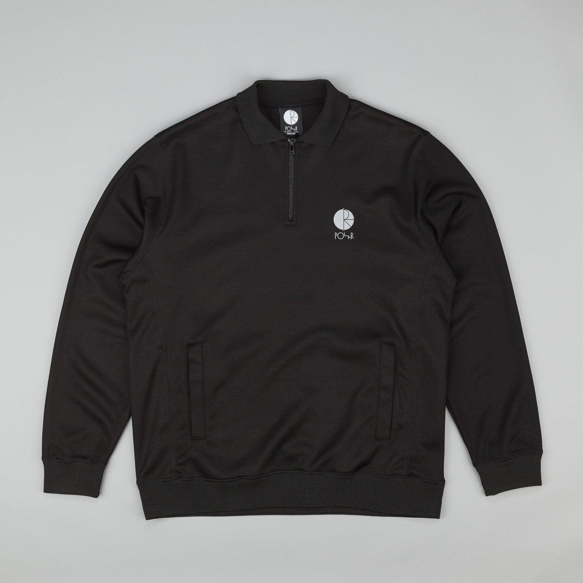 Polar Half Zip Sweatshirt - Black