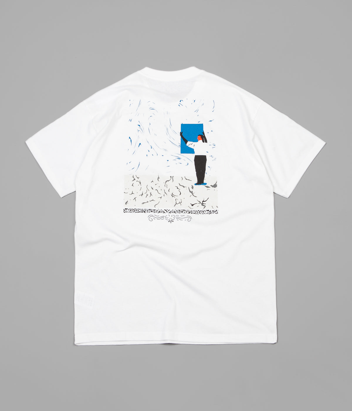 Polar Hanging A Painting T-Shirt - White