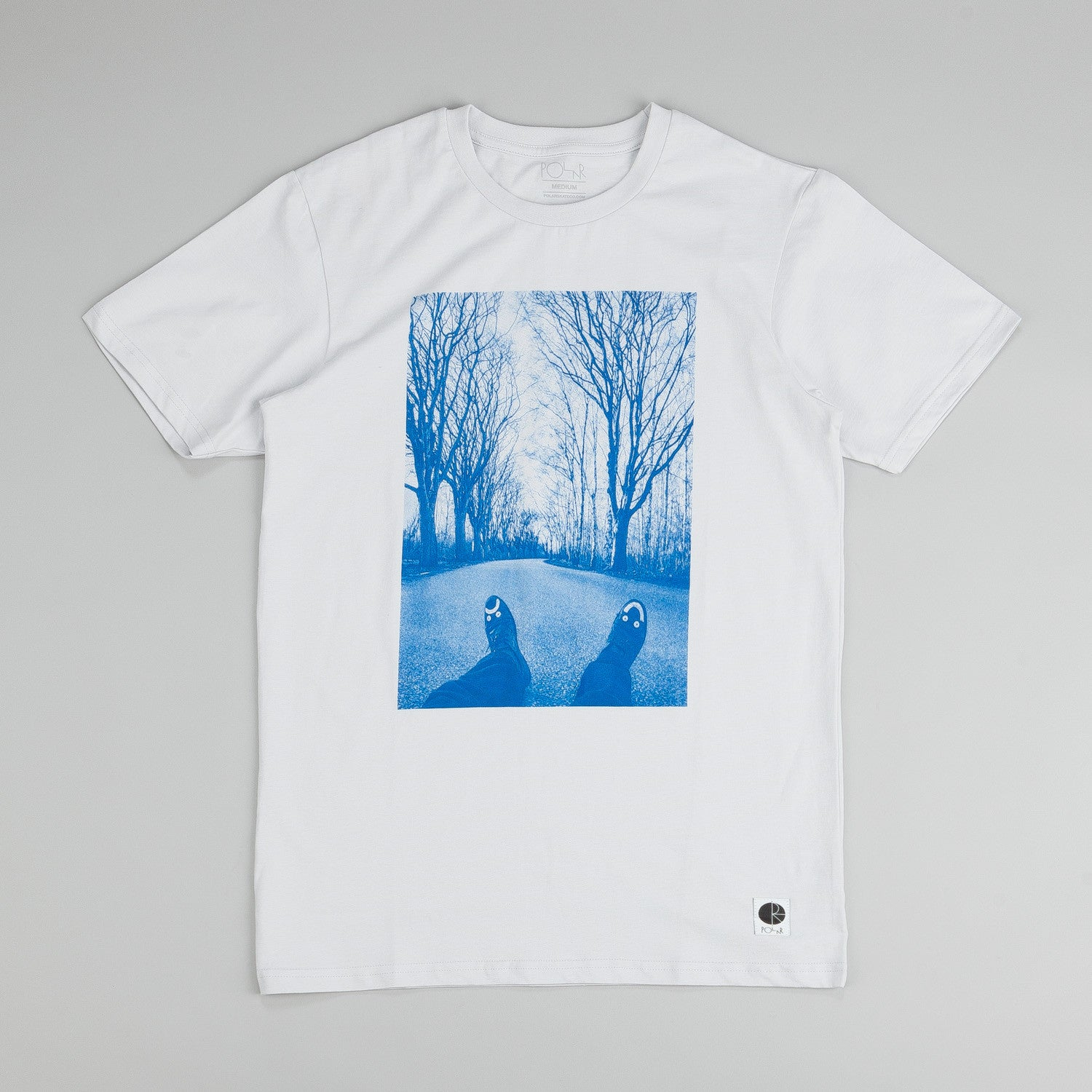 Polar Happy Sad Around The World T-shirt Grey
