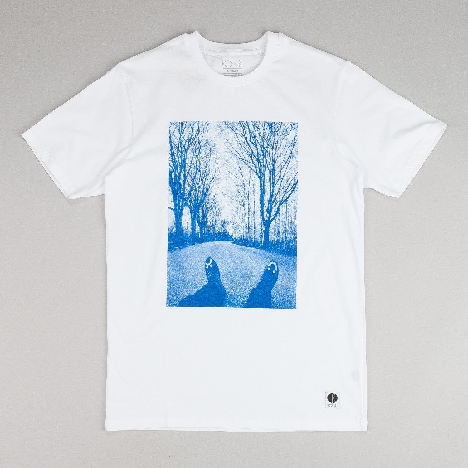 Polar Happy Sad Around The World T-shirt White