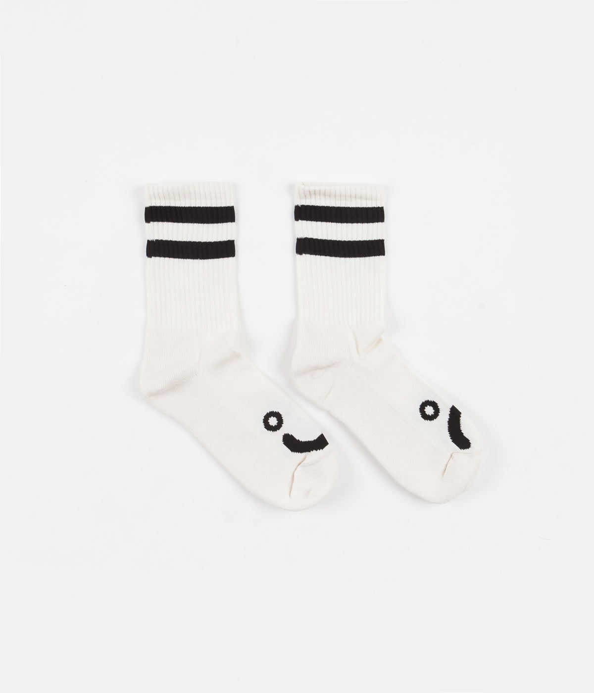 Polar Happy Sad Classic Socks - Ivory