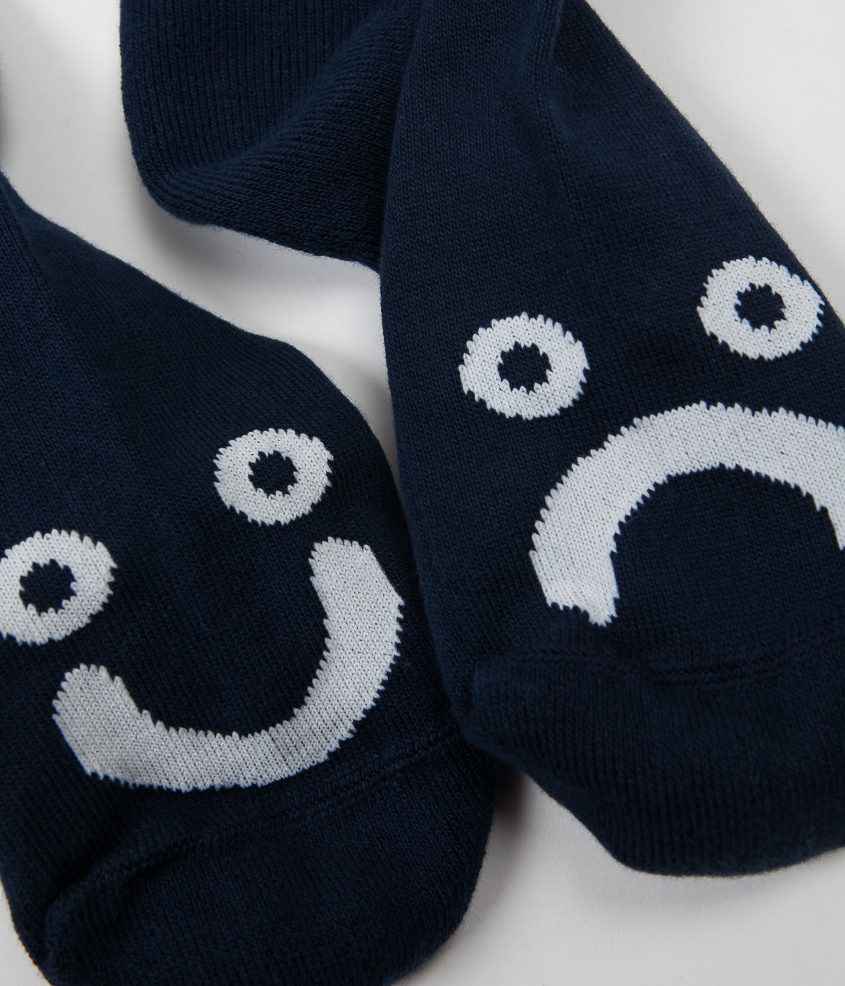 Polar Happy Sad Classic Socks - Navy