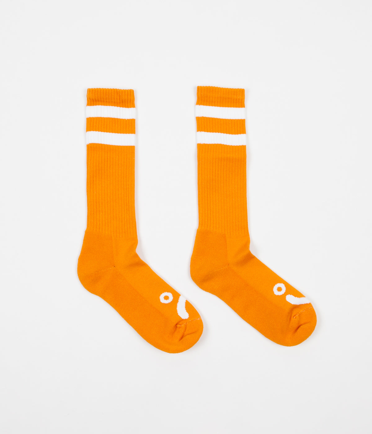 Polar Happy Sad Classic Socks - Orange
