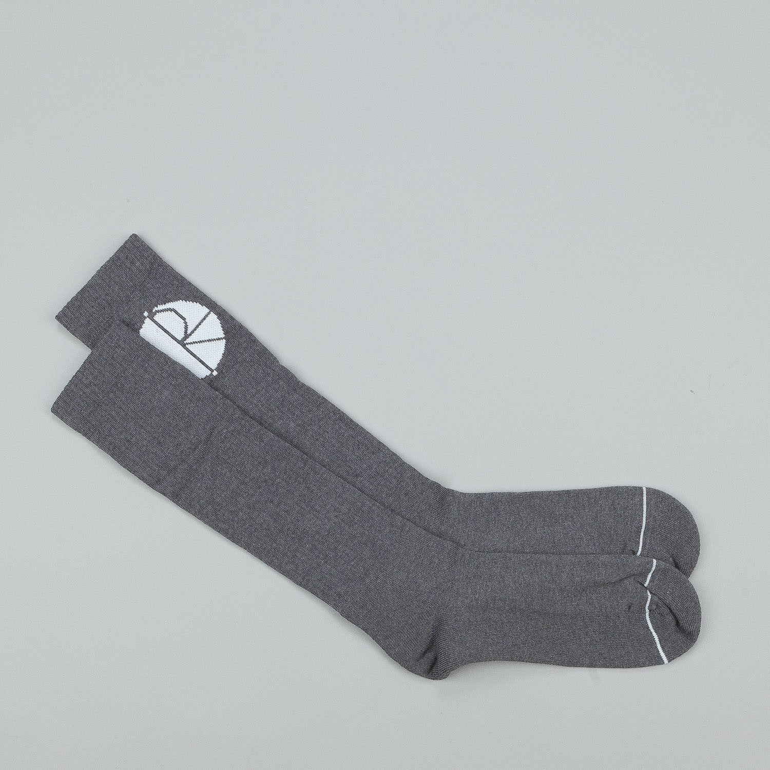 Polar Happy Sad Fill Logo Mid High Socks
