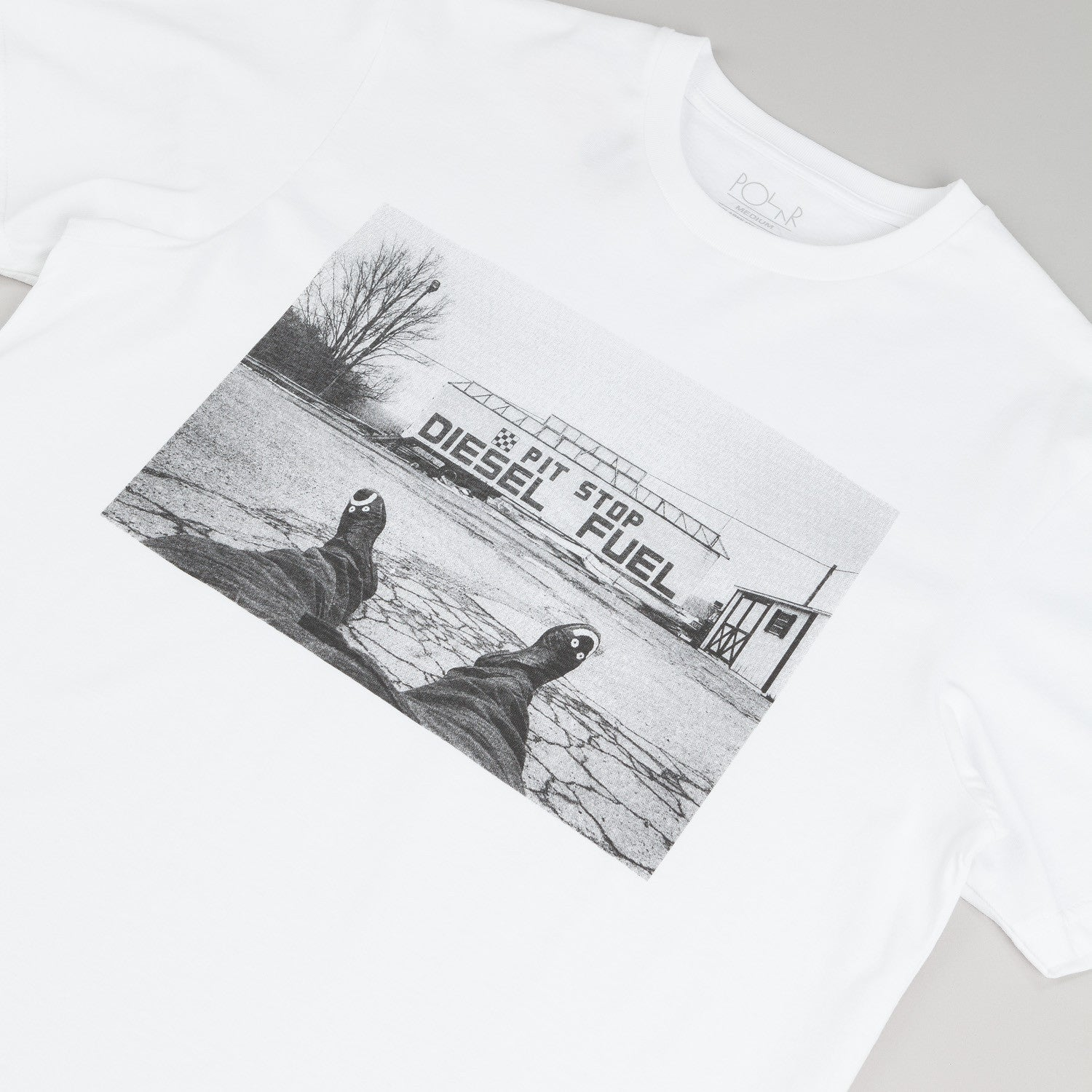 Polar Happy Sad Photo - Location Unknown T Shirt White / Black