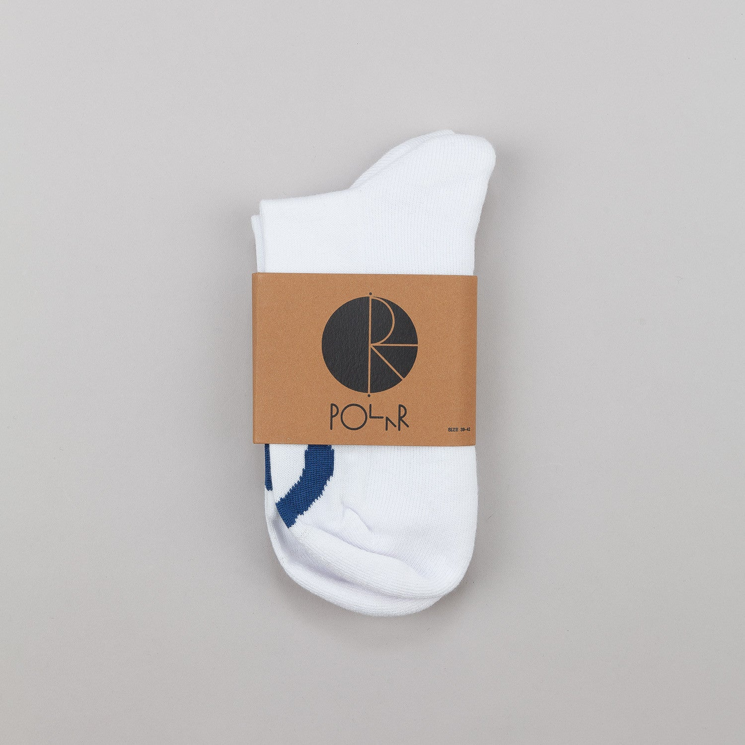 Polar Happy Sad Socks White / Blue / Navy
