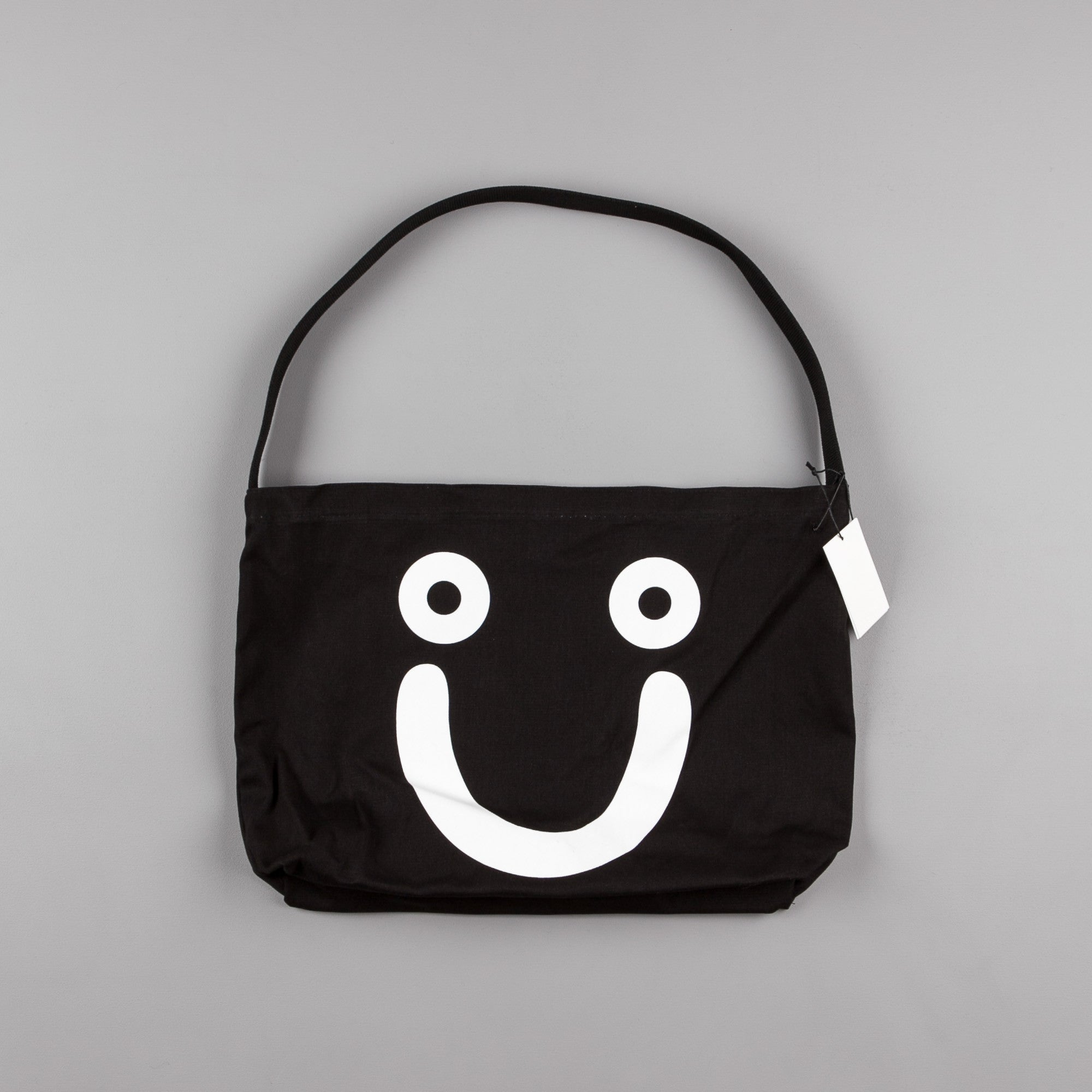 Polar Happy Sad Tote Bag - Black / White