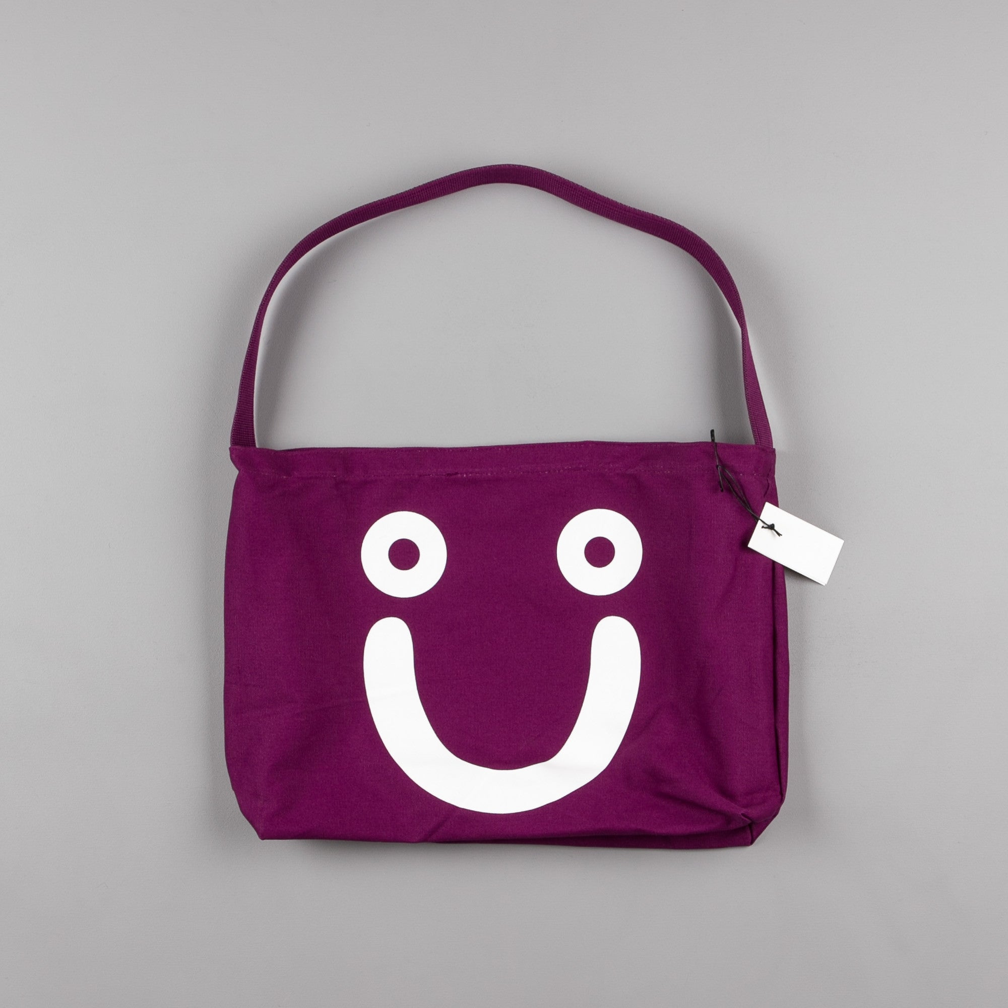 Polar Happy Sad Tote Bag - Dark Prune