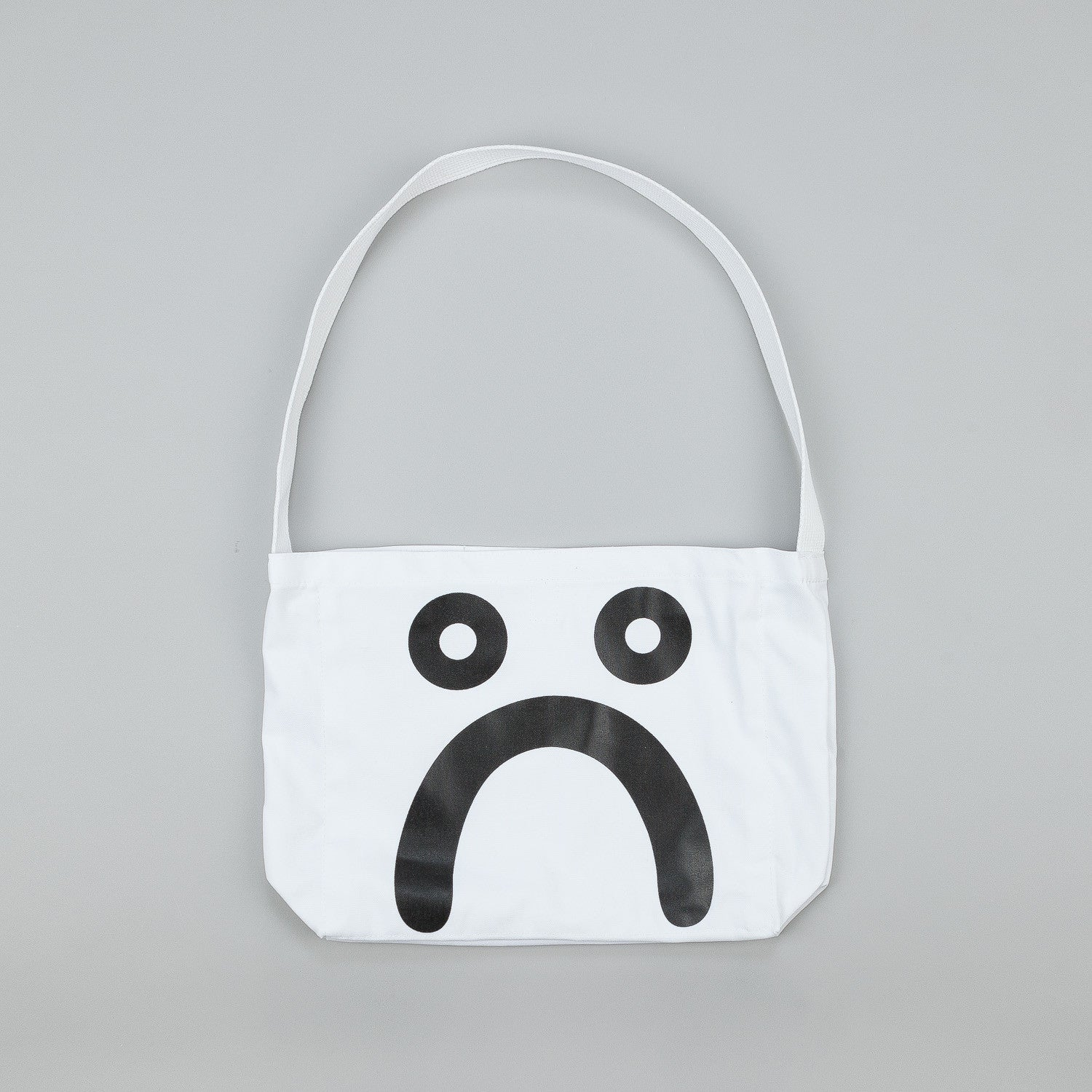 Polar Happy Sad Tote Bag - White / Black