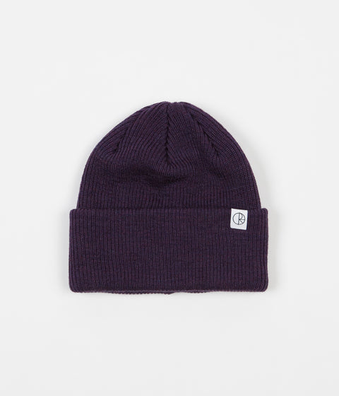 Polar Harbour Beanie - Dark Purple