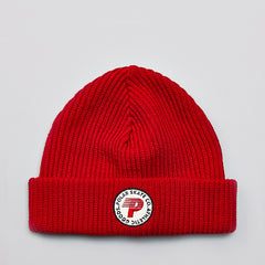 Polar Harbour Beanie Red
