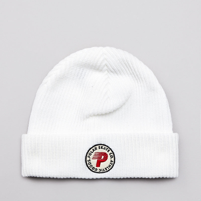 Polar Harbour Beanie White