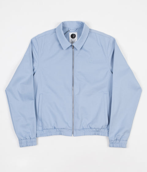 Polar Herrington Jacket - Dusty Blue