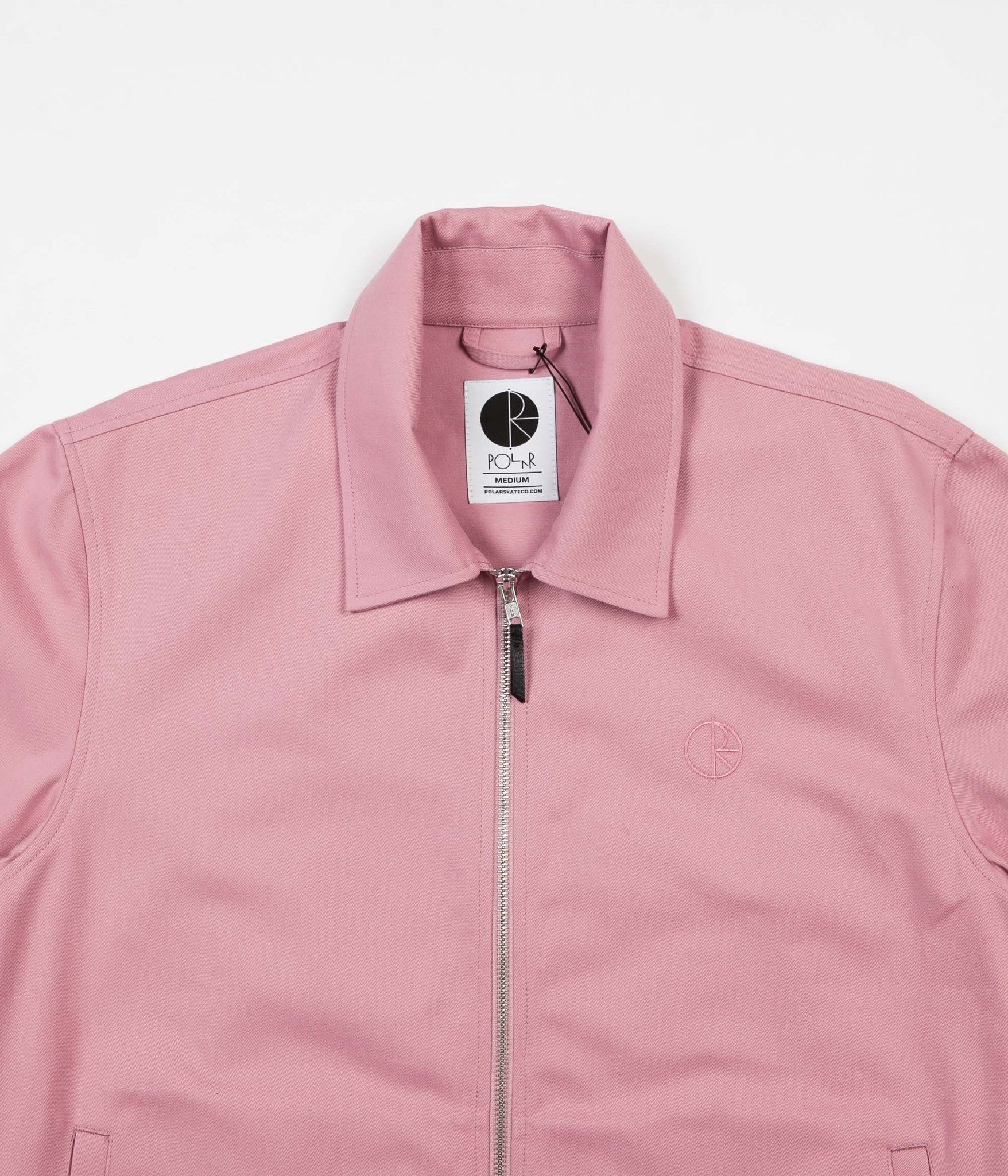 Polar Herrington Jacket - Dusty Rose