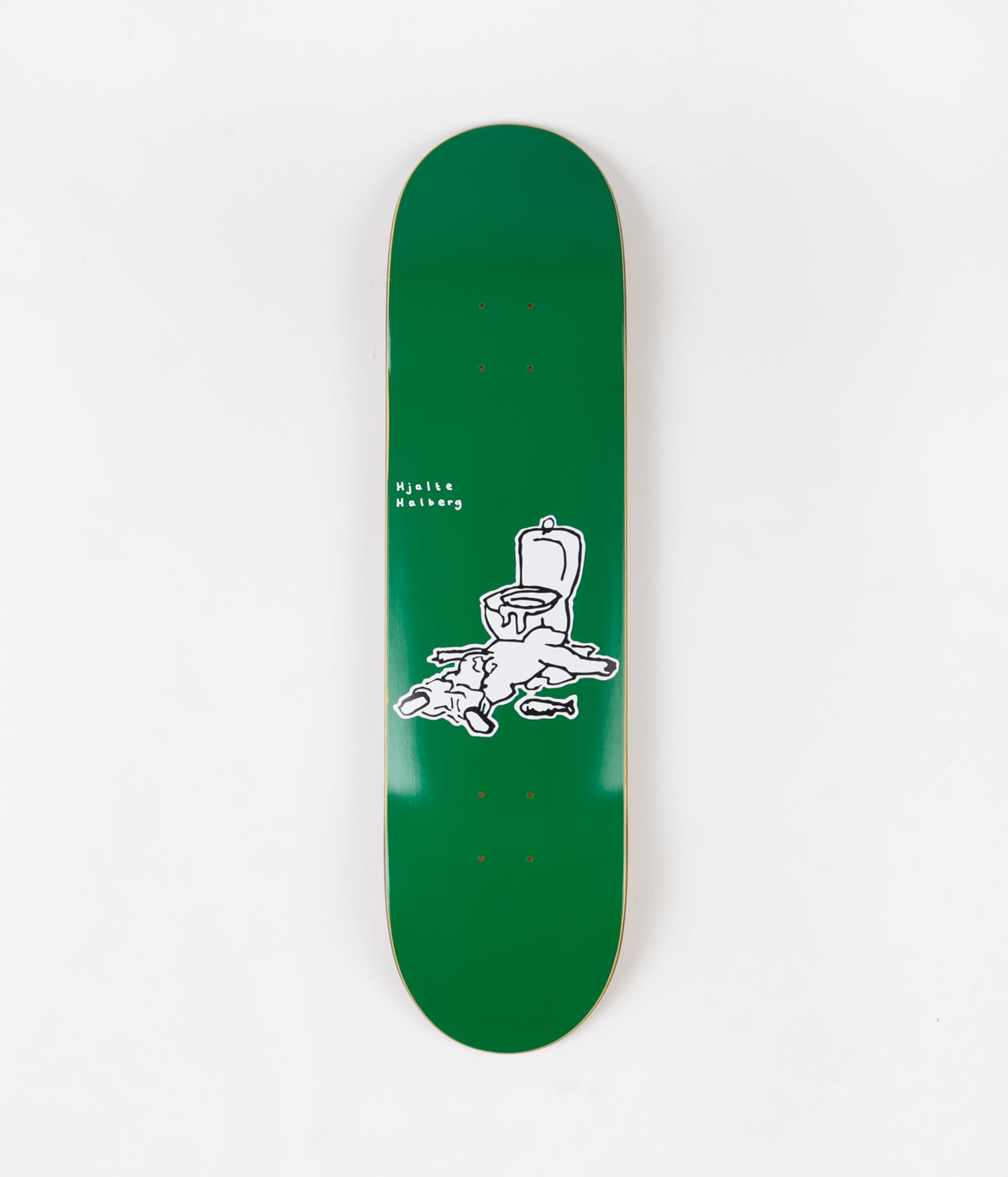 Polar Hjalte Halberg After Work Deck - Green - 8.125""