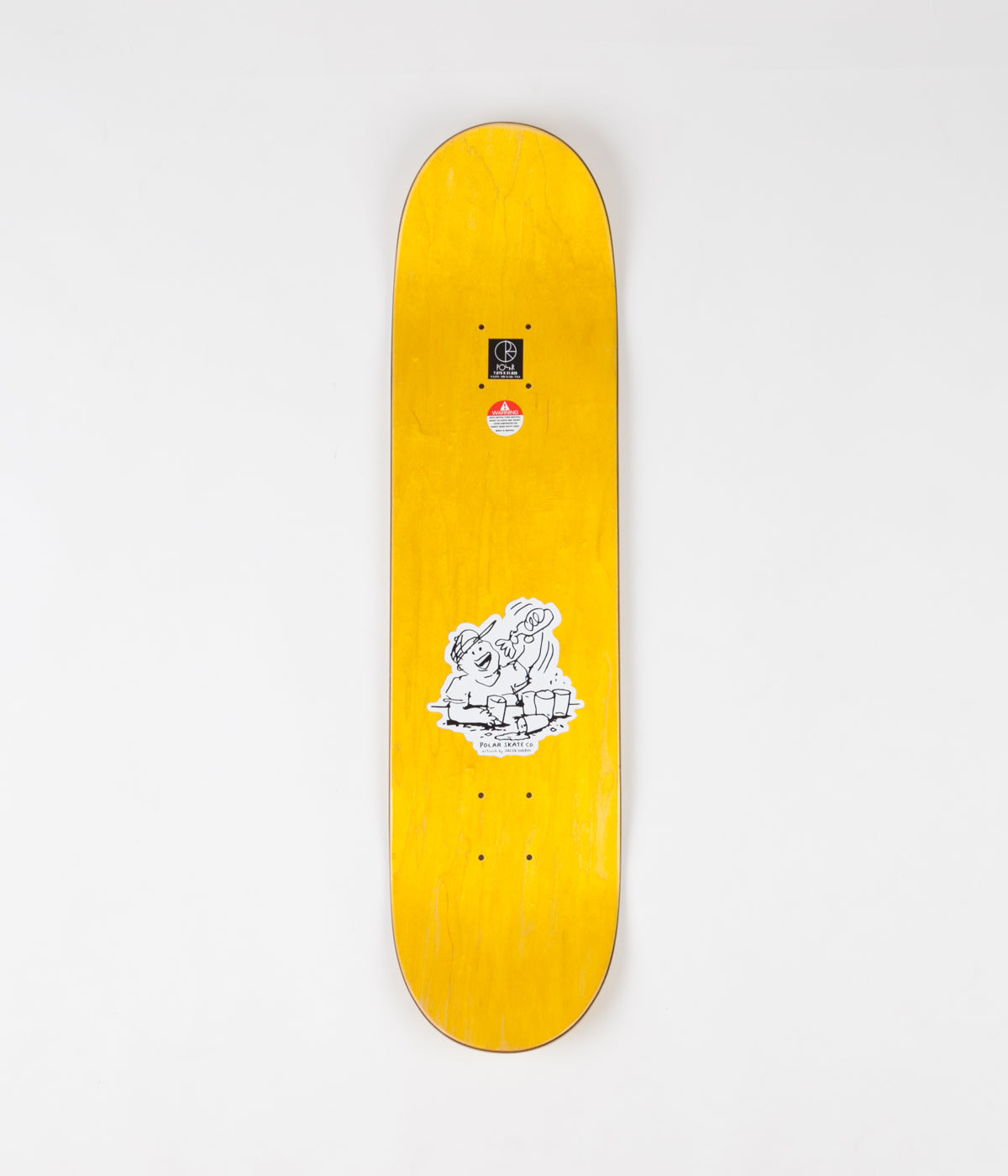 Polar Hjalte Halberg After Work Deck - Yellow - 7.875""