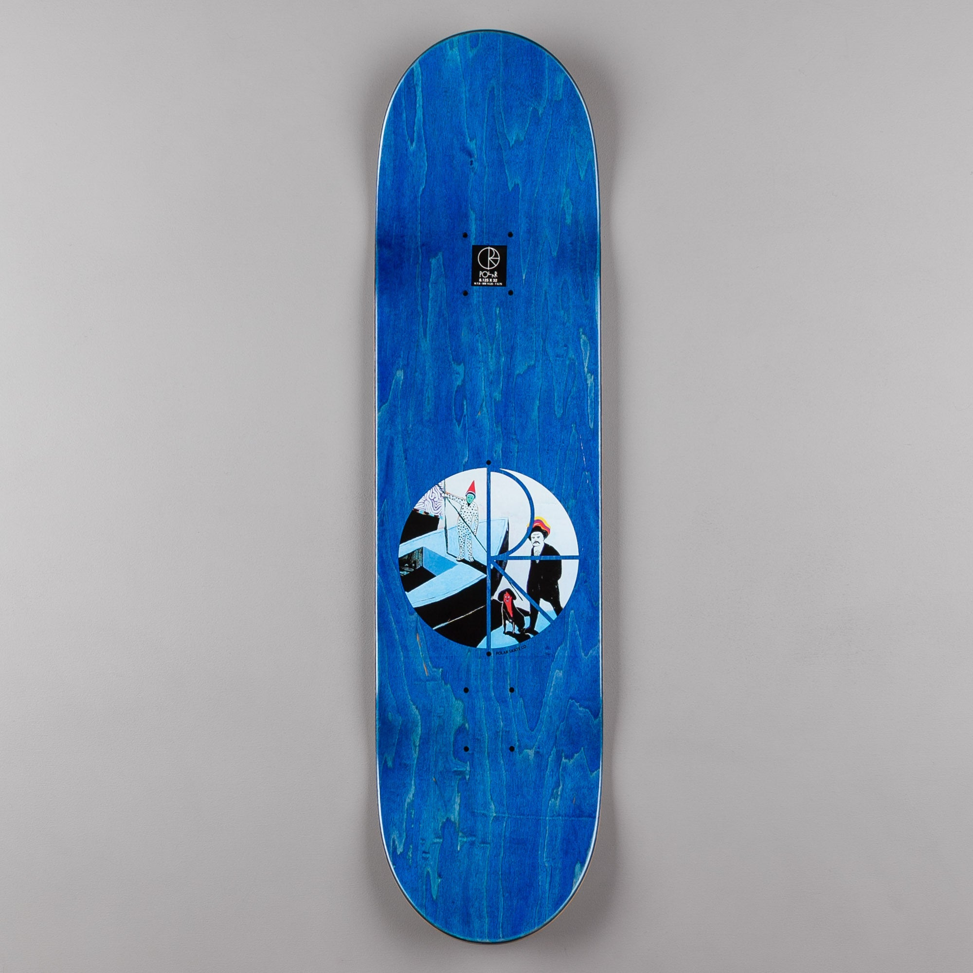 Polar Hjalte Halberg AMTK Rainbow Valley Deck - 8.125""