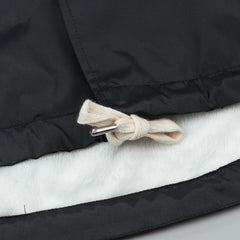 Polar Hooded Coach Jacket - Black