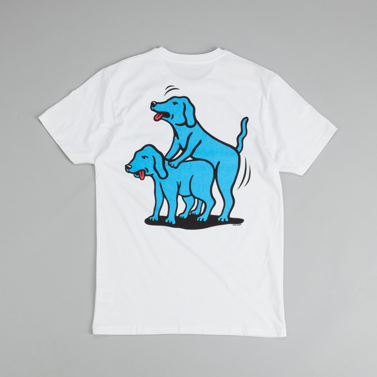 Polar Humping Dogs T Shirt White / Blue - Red - Black