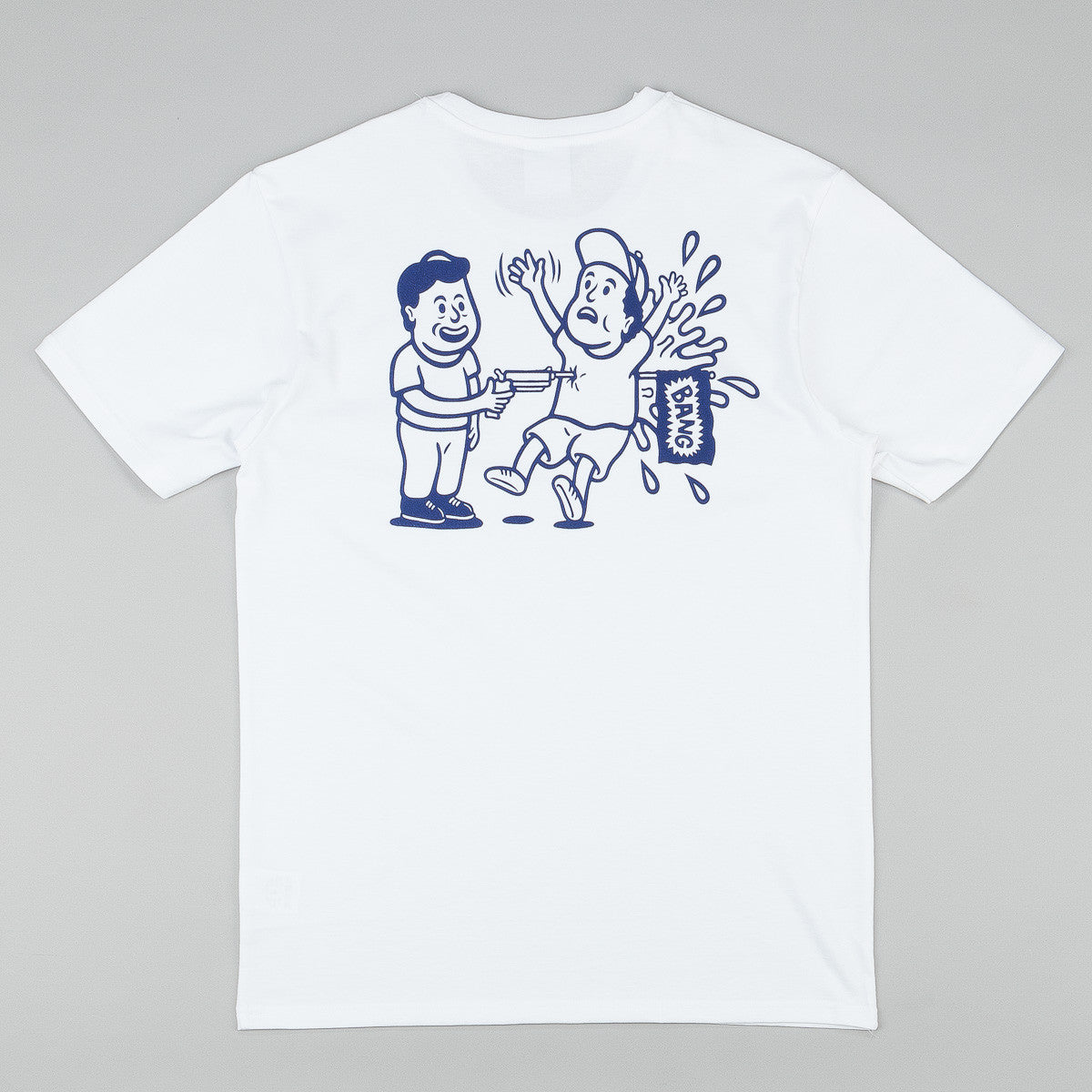Polar Jacob's Corner Bang T-Shirt - White / Navy