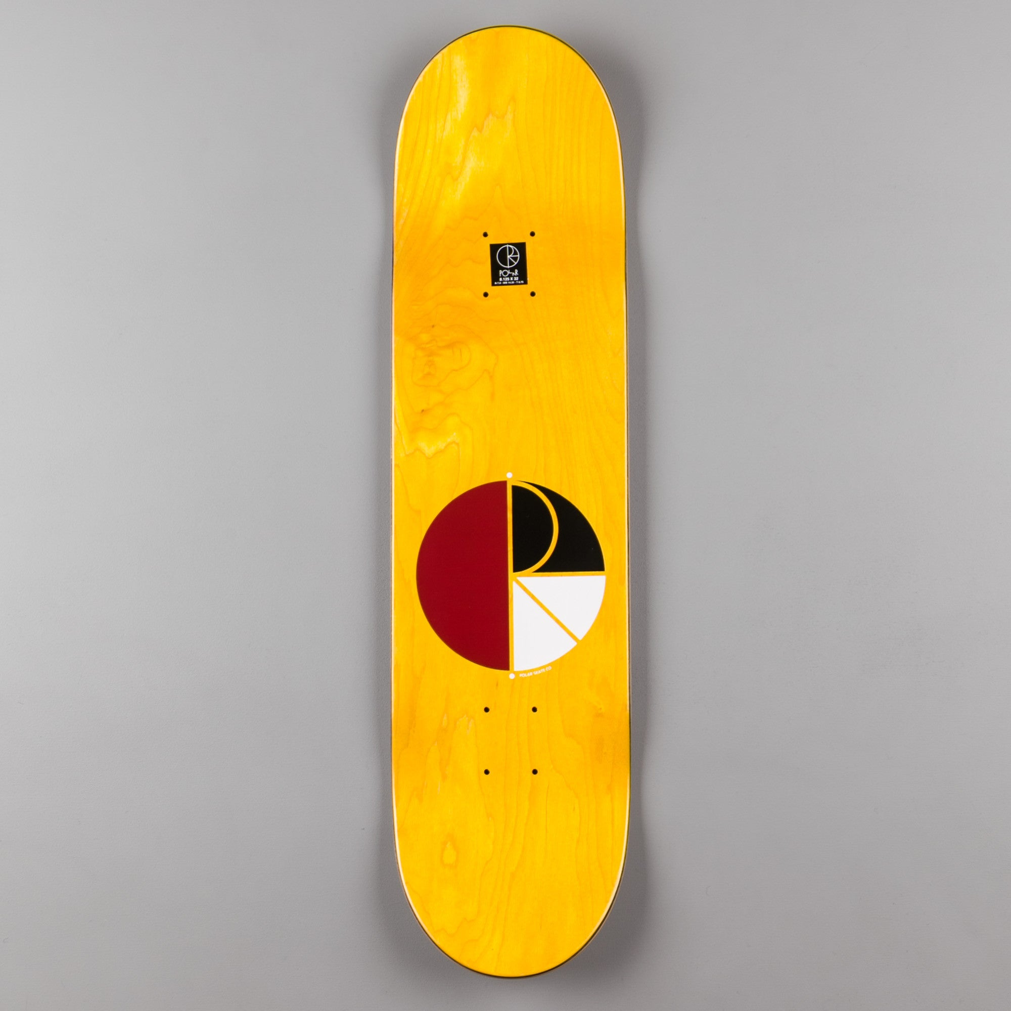 Polar Kevin Rodrigues Punch Out Deck  - Red - 8.125""