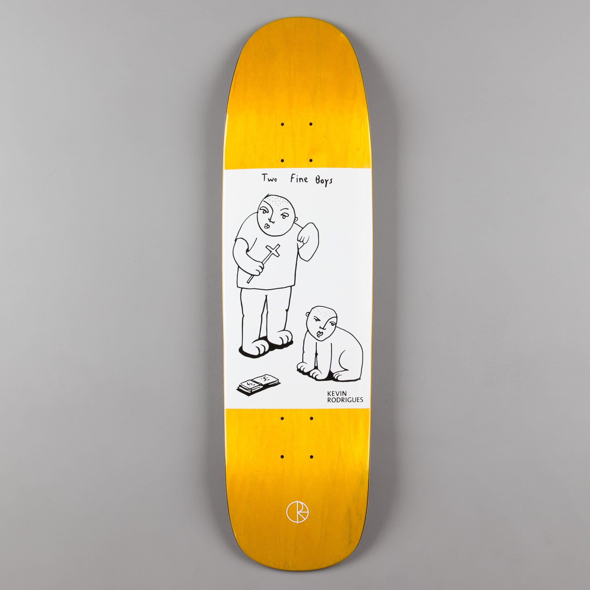 Polar Kevin Rodrigues Two Fine Boys KEV1 Shape Deck - Natural - 8.625""