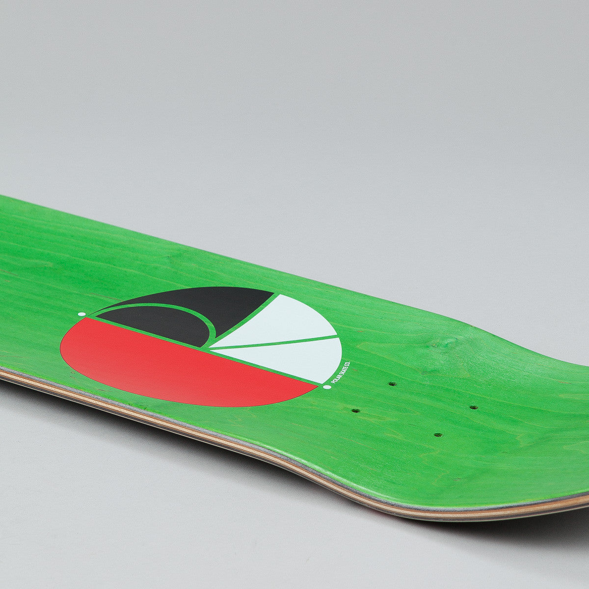 "Polar KR Invert Deck - 8.25"" Black"