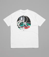 Polar Lambo Life Fill Logo T-Shirt - White