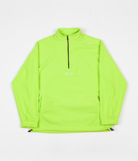 Polar Lightweight Fleece Pullover Jacket - Gecko Green